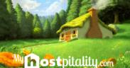 casita del bosque con logo