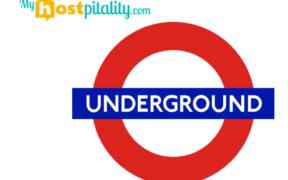 Banner Metro de Londres Underground