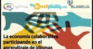 Banner economia colaborativa aprender idiomas