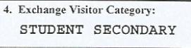 visado para tu año escolar en EE.UU.