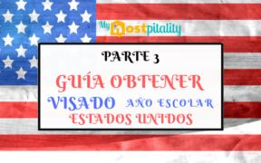 visado para año escolar en EE.UU.